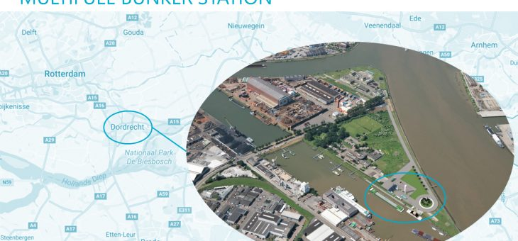 Plans for Dordrecht Inland Seaports to host bunker station for LNG and other cleaner fuels