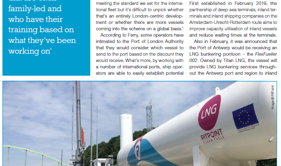 LNG in the Bunkerspot magazine