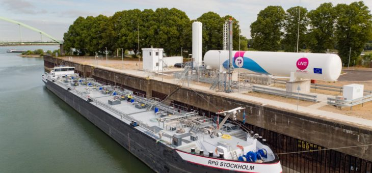 FIRST PERMANENT LNG BUNKER STATION IN GERMANY